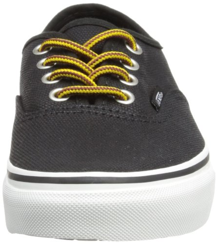Vans U AUTHENTIC (WASHED) BLACK VVOE4JT Unisex-Erwachsene Sneaker Black/Marshmallow