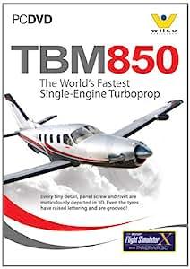 Socata TBM850 for FS2004 and FSX (PC DVD)