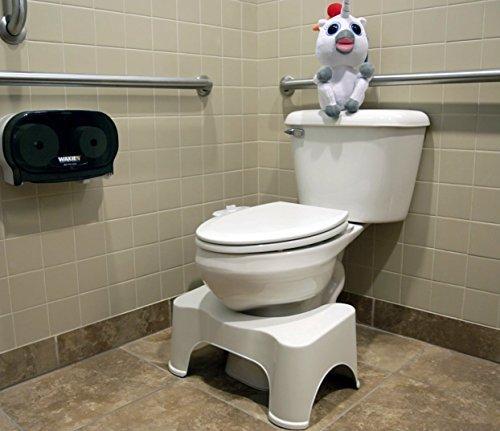 gadgetzone antideslizante squatty Orinal baño Step Up Taburete Alivia Estreñimiento Hemorroides y Distensión naturally. NIVELA LOS COLON Para Más Rápida,más fácil propios inodoro POSTURA MÁS SANO