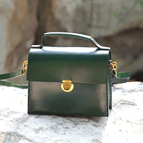 Nouveau cuir vintage fait main petit sac à main bandoulière sac en bandoulière sac Green