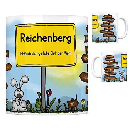 Reichenberg, Unterfranken - Einfach der geilste Ort der Welt Kaffeebecher - eine coole Tasse von trendaffe - passende weitere Begriffe dazu: Stadt-Tasse Städte-Kaffeetasse Lokalpatriotismus Spruch kw Kist Paris Uengershausen Geroldshausen Aschaffenburg Kleinrinderfeld Frankfurt am Main Lindflur Ansbach Würzburg München Fuchsstadt Schweinfurt Randersacker Albertshausen bei Würzburg Tasse Kaffeetasse Becher mug Teetasse oder Büro.
