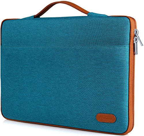 "ProCase 13-13.5 Zoll Hülsenkoffer Cover für MacBook Pro 2016 / Pro mit Retina/MacBook Air/Surface Book, Ultrabook Laptop Tasche für 13"" 13.3\"" Lenovo Dell Toshiba HP ASUS Acer Chromebook -Aquamarin"