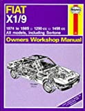 Fiat X1/9 1974-89 Owner's Workshop Manual
