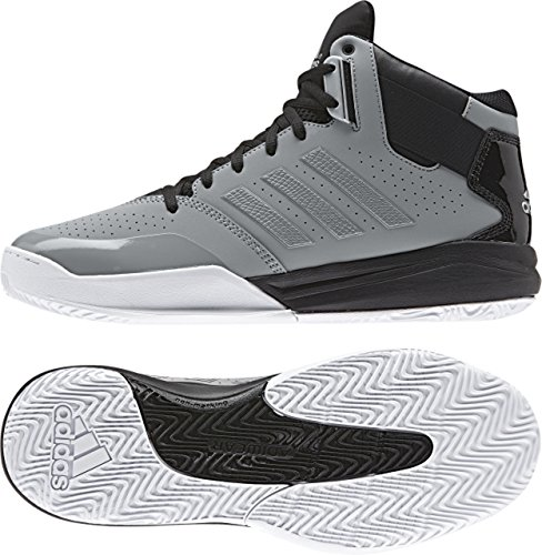 adidas Performance Outrival 2 Basketballschuhe High-Cut Sneaker Grau Gr. 43 1/3 (Herren High-cut)