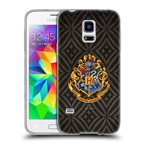 Head Case Designs Offizielle Harry Potter Hogwarts Kamm Prisoner of Azkaban I Soft Gel Huelle kompatibel mit Samsung Galaxy S5 Mini (S5 Harry Phone Case Potter Galaxy)