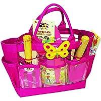 Kit Pals Senior Garden kit de jardinería para niños pequeños color rosa