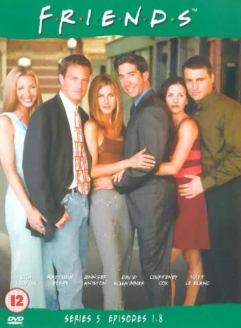 Click for larger image of Friends: Series 5 - Episodes 1-8 [DVD] [1995]