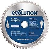 Evolution Evoblade 230 Lame TCT de scie circulaire pour acier 230mm