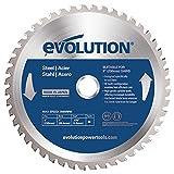 Evolution Evoblade 230 AL Kreissägeblatt für Stahl, 230 mm, Wolframcarbid (TCT)
