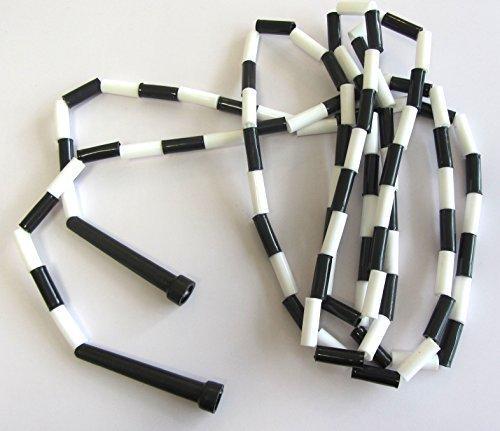 11m Noir/Blanc corde à sauter Yoga Pilates...