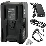 Fomito DBK BP de 190190WH (13000mAh/14.8V) V de batería para Sony de vídeo videocámara, batería de la serie Sony BP