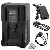 fomito DBK BP-190190WH (13000mAh/14,8V) V Batterie pour Caméscope Sony Vidéo, batterie de la série SONY BP