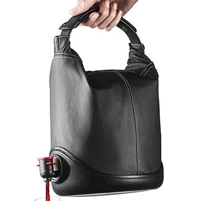 Menu Baggy WineCoat - One Size UK - Black Leather Look