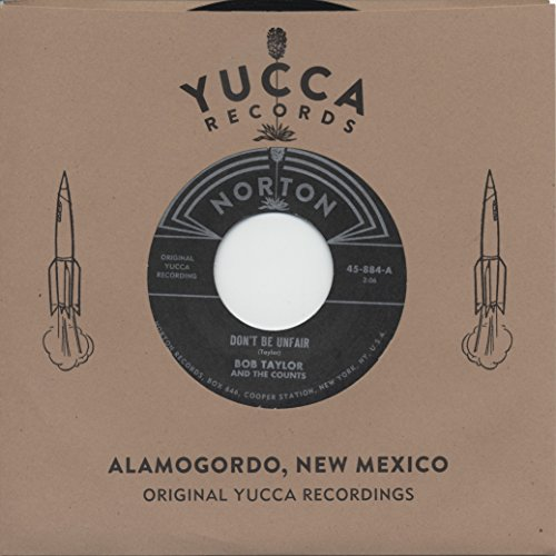 Bob Taylor & The Counts - Bobby Fuller - Original Yucca Recordings (7inch, 45rpm) -