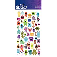 Sticko Stickers-Mini Monsters