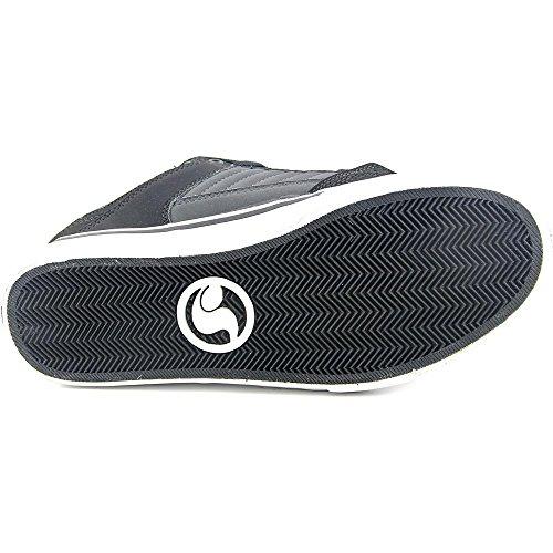 DVS Ignition CT Cuir Chaussure de Basket Black-Gray