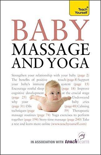 Baby Massage and Yoga: Teach Yourself by Anita Epple (2010-02-26)