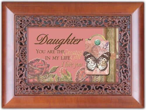 Cottage Garden Ornate Daughter Music Box by Cottage Garden