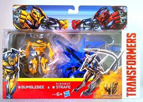 Extinction - Bumblebee and Dinobot Strafe ()