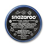 Snazaroo - Pintura facial y corporal, 18 ml, color negro