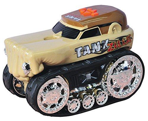 Monster Truck Spur Spielzeug (Happy People 35941 - Toy State, Roadrippers, Monster Truck, Tankzilla, Fahrzeug)
