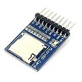 Kongnijiwa Module série Micro SD de Stockage Conseil MciroSD TF Carte mémoire d'évaluation du développement de Lecture Kit Module d'écriture...