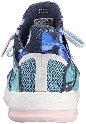 Adidas Reines Boost-X Tr W Trainingsschuh, schwarz / dunkelgrau / sun Glow Gelb, 6 M Us Blue/Blue/Pink