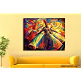 Tamatina Canvas Paintings - Worship Of Allah- Modern Art Paintings - Paintings For Home Décor - Paintings For Drawing Room - Wall Paintings For Bedroom - Paintings For Living Room - Canvas Paintings For Wall - Large Size Paintings For Bedroom