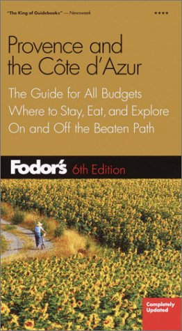 Provence and the Cote D'Azur (Gold Guides)