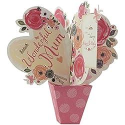 """Hallmark Geburtstagskarte für Mütter mit englischer Aufschrift """"Love Today and Always2, mittelgroß, M"""
