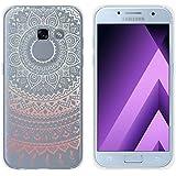 yayago Schutzhülle für Samsung Galaxy A3 2017 Hülle Mandala Design Transparent