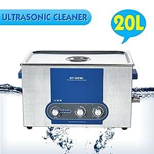 20l appareil de nettoyage ultrasons ultrasonic cleaner. Black Bedroom Furniture Sets. Home Design Ideas