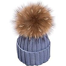 Aitos Strickmütze Wärmer Häkelarbeithut Wollmütze Beanie Ski Hüte Mützen