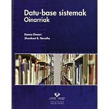 Datu-base sistemak. Oinarriak (Vicerrectorado de Euskara)