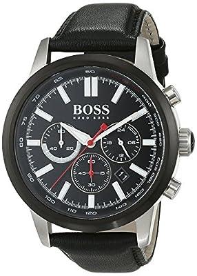 Hugo Boss–Reloj de pulsera hombre cronógrafo cuarzo piel 1513191 de Hugo Boss