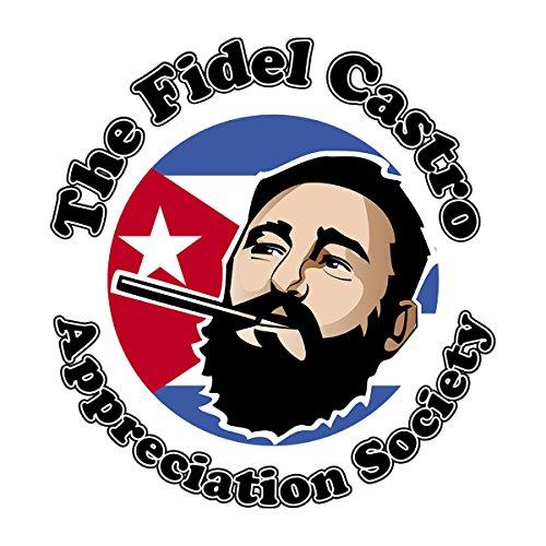 Fidel Castro Appreciation Society Men's Hooded Sweatshirt White