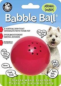 Medium Animal Sounds Babble Ball-Yellow