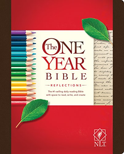 The One Year Bible Reflections Edition NLT (One Year Bible Reflections: Full Size)