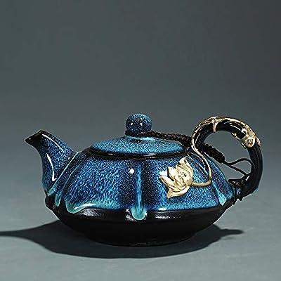 YZPCH Théière en céramique Théière résistante à la Chaleur 200 ML avec thé de trempage