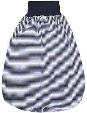 TupTam Unisex Baby Strampelsack mit breitem Bund Unwattiert
