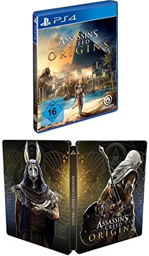 Assassin's Creed Origins - Standard Edition - Steelbook Edition - [PlayStation 4]