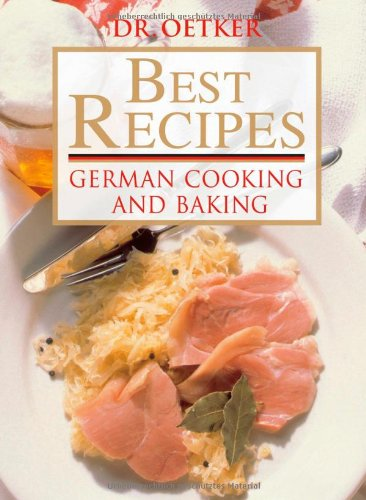 Dr. Oetker - best recipes : German cooking and baking