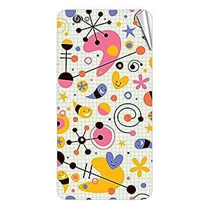 Garmor Designer Mobile Skin Sticker For Gionee Elife S7 - Mobile Sticker