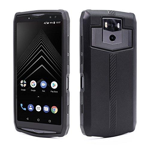Ulefone Power 5 & 5s Hülle Schwarze Silikon Schutzhülle Leicht Schlank Passgenau Kratzfest Stoßfest Anti-Fingerabdruck Abdeckung