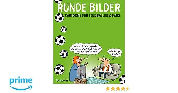 Runde Bilder Cartoons Fur Fussballer Fans Amazon De