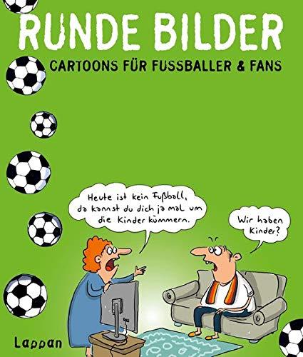 Runde Bilder: Cartoons für Fußballer & Fans