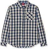 s.Oliver Jungen Hemd 61.809.21.4317, Blau (Dark Blue Check 58n3), 140 (Herstellergröße: S/REG)
