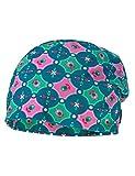 maximo Mädchen Mütze Beanie, Mehrfarbig (petrolgrün-Pink 28), 57