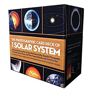 The Photographic Card Deck of the Solar System: 126 Cards Featuring Stories, Scientific Data, and Big Beautiful Photographs of All the Planets, Moons,