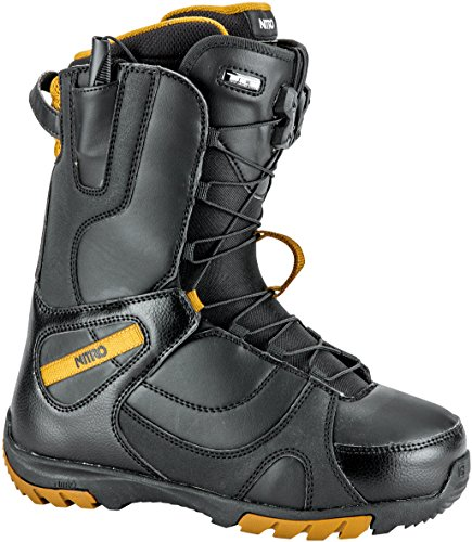 Nitro Snowboards Damen Snowboard Boot CUDA TLS'18, Black, 26, 1181-848416